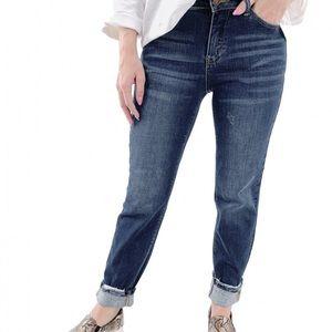 Judy Blue High Rise Girlfriend Jeans